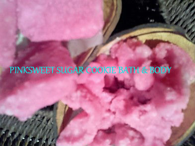PinkBody Sugar soap