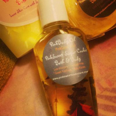PinkSweet Body Oil