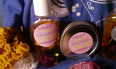 PinkSweet Body Oil